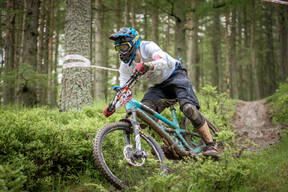 Photo of Andrew CROMPTON at Innerleithen