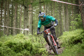 Photo of Christopher GALLAGHER at Innerleithen
