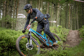 Photo of Mike HODGSON at Innerleithen