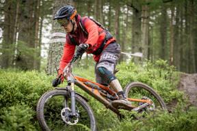 Photo of Luke DAVIS at Innerleithen