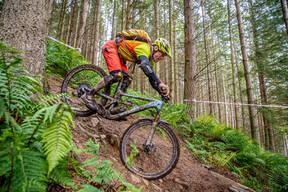 Photo of Dave WILLS at Innerleithen