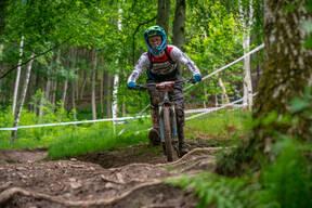 Photo of Cameron DICKSON at Innerleithen