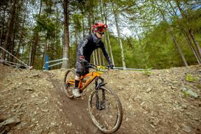 Photo of Jon MORLEY at Innerleithen