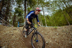 Photo of Lewis COWE at Innerleithen