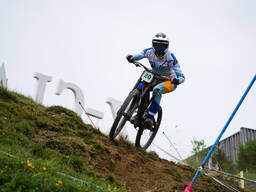 Photo of Simon CHAPELET at Leogang