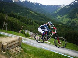 Photo of Tyler ERVIN at Leogang
