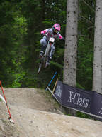Photo of Tracey HANNAH at Leogang