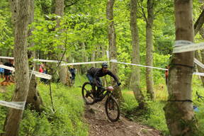 Photo of Brian OATES at Innerleithen