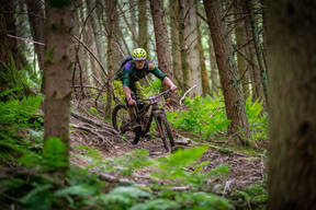 Photo of Sam HUDDLESTON at Innerleithen