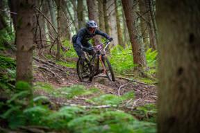 Photo of Aidan BURRILL at Innerleithen