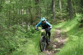 Photo of Claire AITCHISON at Innerleithen