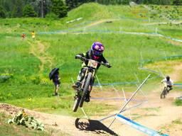 Photo of Aletha OSTGAARD at Tamarack Bike Park, ID