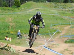 Photo of Rick GALE at Tamarack Bike Park, ID