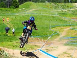 Photo of Brielle STERN at Tamarack Bike Park, ID