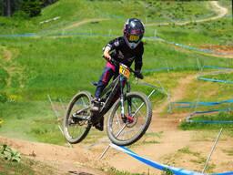 Photo of Finley KIRSCHENMANN at Tamarack Bike Park