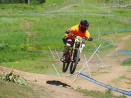 Photo of Bryan CRUM at Tamarack Bike Park, ID