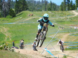 Photo of Amanda WENTZ at Tamarack Bike Park, ID