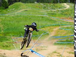 Photo of Cameron STINGER at Tamarack Bike Park, ID