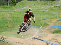 Photo of Zachary ATKINS at Tamarack Bike Park, ID