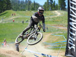 Photo of Bryce STROUD at Tamarack Bike Park, ID