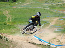 Photo of Cody JOHNSON (pro) at Tamarack Bike Park, ID