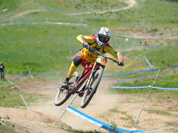 Photo of Neko MULALLY at Tamarack Bike Park, ID