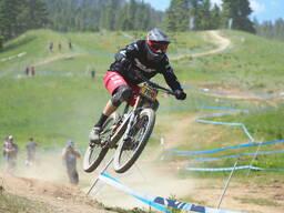 Photo of Chris HIGGERSON at Tamarack Bike Park, ID