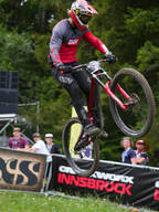 Photo of an untagged rider at Innsbruck