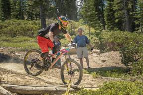 Photo of Chris BONDURANT at Mt Shasta, CA