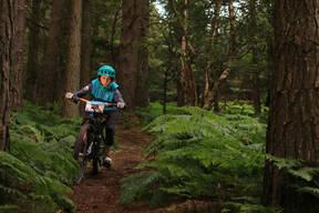 Photo of Mateja TRPIN at Barnaslingan Forest