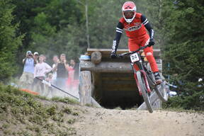 Photo of Reece WILSON at Les Gets
