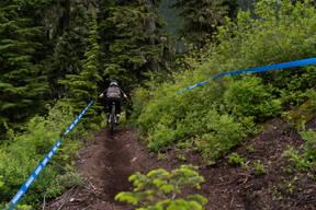 Photo of an untagged rider at Stevens Pass, WA