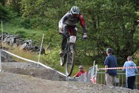 Photo of Philip GRAY at Revolution Bike Park, Llangynog