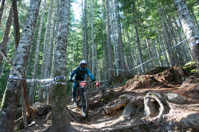 Photo of an untagged rider at Whistler, BC