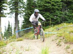 Photo of Erik ROBERTS at Whitefish Mountain Resort, MT
