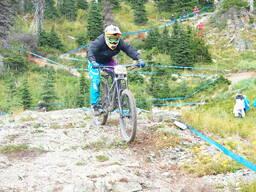 Photo of Davey SIMON at Whitefish Mountain Resort, MT