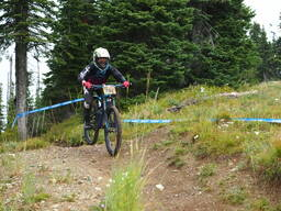 Photo of Caitlin EDISON at Whitefish Mtn.