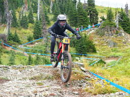 Photo of Claire BUCHAR at Whitefish Mountain Resort, MT