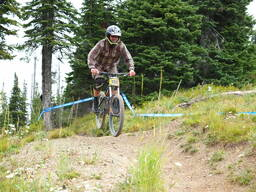 Photo of Brian ROGERS at Whitefish Mtn.