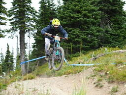 Photo of Chris WALLER at Whitefish Mountain Resort, MT