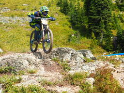 Photo of an untagged rider at Whitefish Mountain Resort, MT