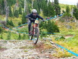 Photo of Claire BUCHAR at Whitefish Mtn.