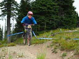 Photo of Zachery MORRIS at Whitefish Mountain Resort, MT