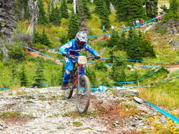 Photo of George STOTT at Whitefish Mtn.