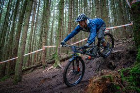 Photo of Mat WRIGHT at Kirroughtree Forest