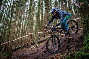 Photo of Davie MOORE at Kirroughtree Forest