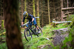 Photo of Zacharias ROBSON at Kirroughtree Forest
