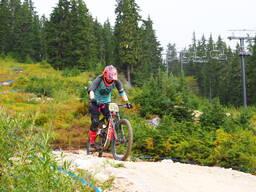 Photo of Leah SMYTH at Stevens Pass, WA