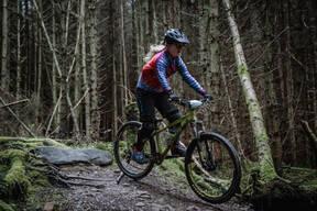 Photo of Hannah WILSON (u16) at Gisburn Forest