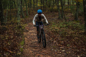Photo of an untagged rider at Carvins Cove, VA